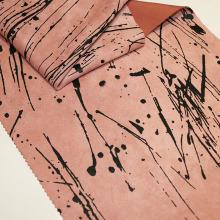 Модная печать замшевых тканей для осени / зимы