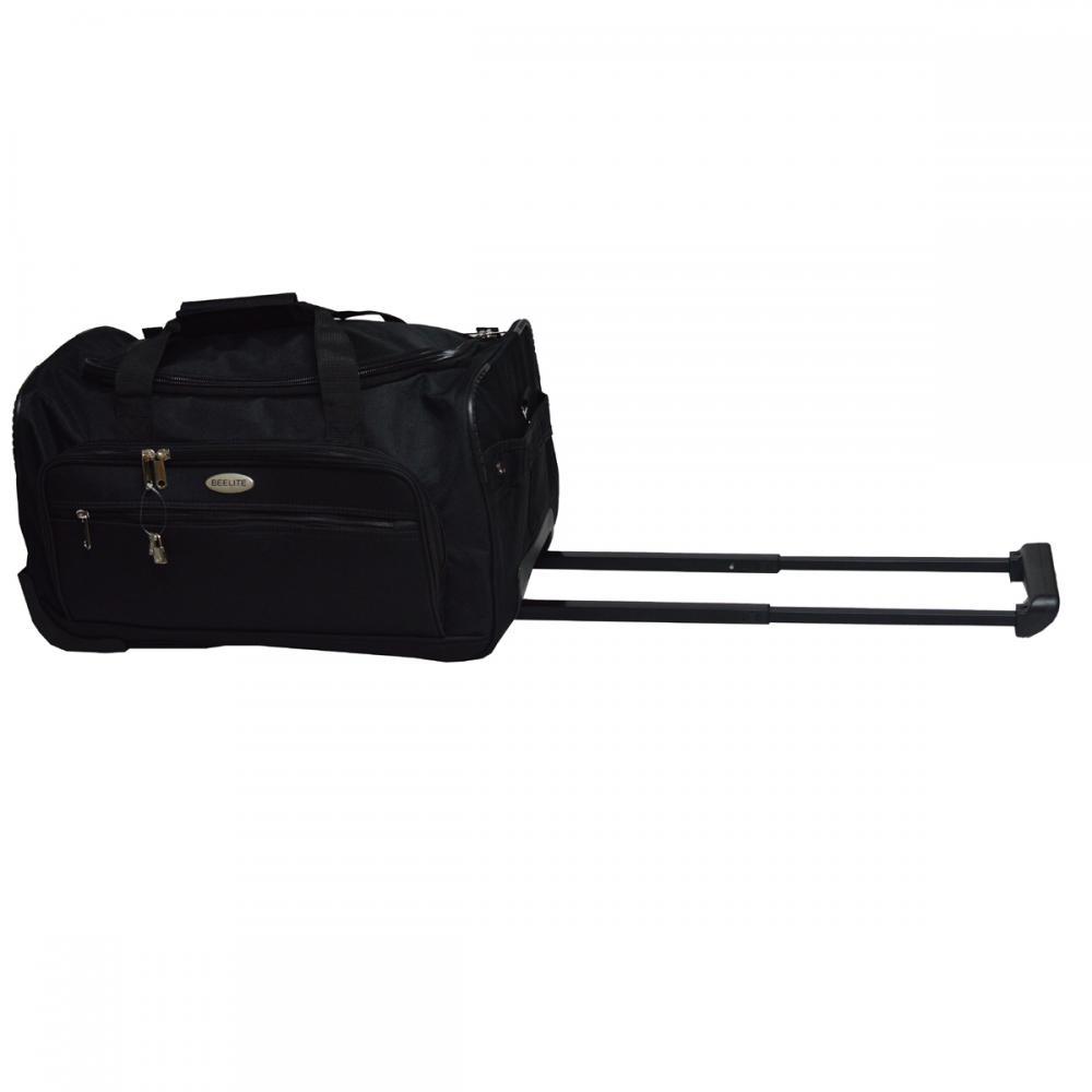 Black Wheeled Travel Bag