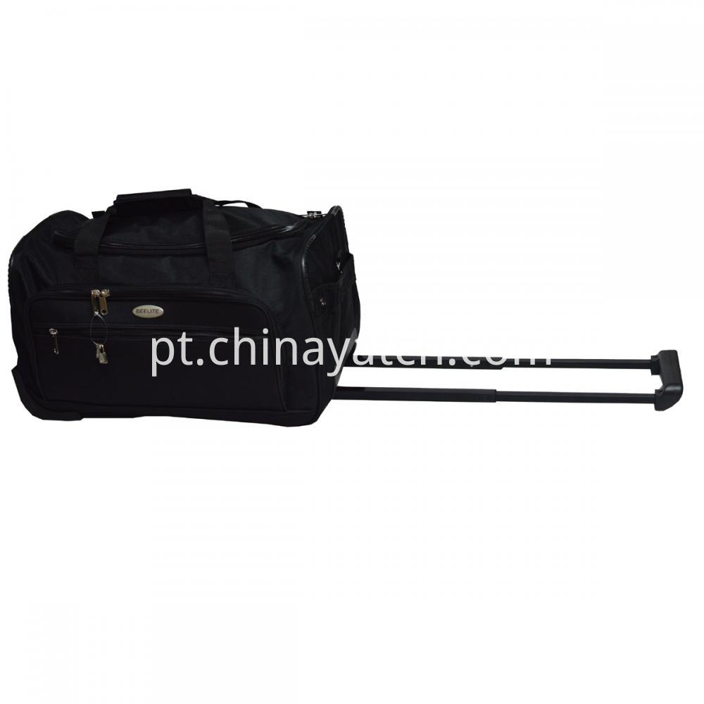 Black Wheeled Travel Bag