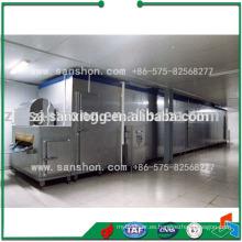 Túnel de frijol túnel de congelación rápida de equipos