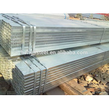 Preço do tubo de ferro quadrado galvanizado