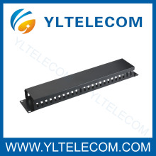 19 Inch Cable Manager with Cover