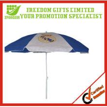 Parasol extérieur anti-UV de cadre coupe-vent