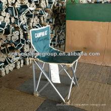 Logo personnalisé promotionnel, chaise de Camping pliante