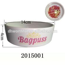 Creative design ceramic bowl for pet