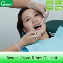 Clear Disposable Dental Doctor Gloves