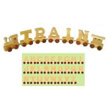 Wooden Toy Train Alphabet (28PCS) (80095)