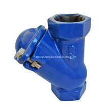 Screwed Type Thread End Ball Check Valve