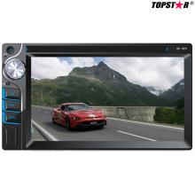 6.2inch doble DIN 2DIN reproductor de DVD del coche con el sistema Ts-2025-2 de la mueca