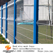 Cheap kindergarten playground steel mesh fences supermarket park security fence edges fashion building fences
