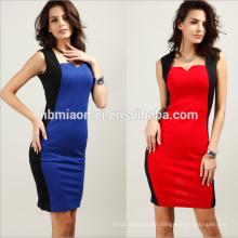 Art und Weisebüro-Dame formale Kleidung Großhandelsdruckblumen-Dame Abendkleid