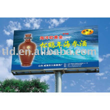 Reflective outdoor advertising signs