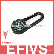 2013 aluminum carabiner with compass