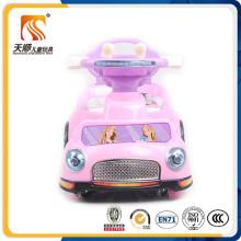 Coche eléctrico para niños con balancín para paseo de bebés en