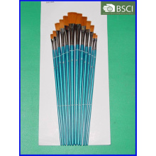 12PCS Wooden Handle Artist Brush Set (AB-070)