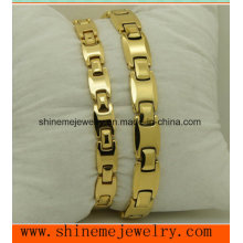 Tungsten Magnet Care Bracelet Lovers Tungsten Bracelet