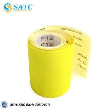 Rollo de tela SATC papel de lija para madera y metal pulido y pulido, rollo de tela papel de lija, rollo de lija