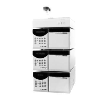 Chromatographie en phase liquide HPLC avec injecteur et colonne de détection de pompe