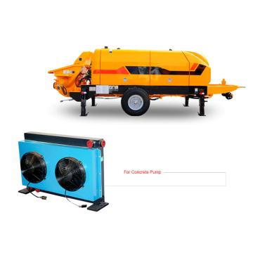 Échangeur de chaleur pour véhicule de pompes à béton