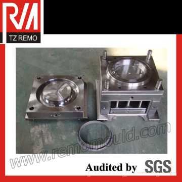 Plastic Barrel Cover Injection Mould