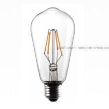 Bombilla LED Filament St64 4W 3000k