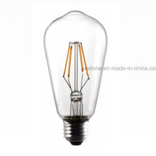 Светодиодная лампа накаливания St64 4W 3000k