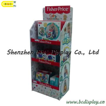 O carrinho de exibição de papelão Kids Toys (B & C-A087)