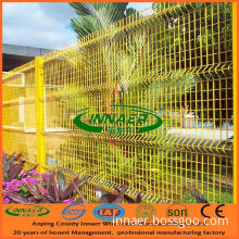 Woven Wire Mesh Fence (four folds)