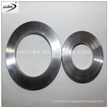 weiske Structured metal ss Flat oval ring gasket