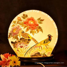 Charactizing a fine spring new design ceramic lamp shade Decorative Lamp