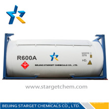 Remplissage de réfrigérateur au gaz r600a