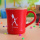 Fashion Ceramics Water Mug with Cover