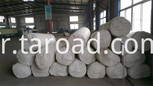 High strength Polypropylene Non woven geotextile fabric packing