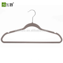 Wholesale velvet flocked hangers
