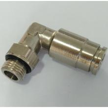 Air-Fluid High Pressure Swivel Elbow Push in Fittings
