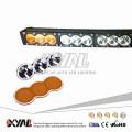 210W amber white led light bar led offroad curved light bar 12V 24V high power outdoor lighting