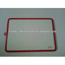 Magnetic mini plastic whiteboard,kids whiteboard XD-CH082-2