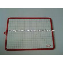 Mini quadro de plástico magnético, kids whiteboard XD-CH082-2