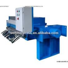 Prensa de filtro de membrana para bebidas y producción de jugo
