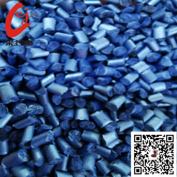 biru Free-spraying masterbatch khas granul ABS PC