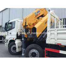 HOWO Chassis 371HP Rhd Container Carry Truck Crane
