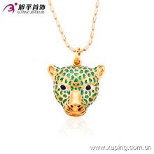 32386 Xuping popular animal colgante moda joyas de oro diseños con peso y precio