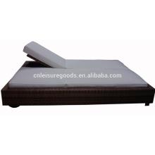 nouveau lit de bronzage en rotin 2 places
