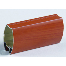 Wood Colour Aluminum Section Aluminium Construction Profile Extrusion
