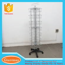 metal wire holder greeting card display unit