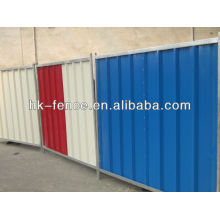 Solid Hoarding Panel Fencing