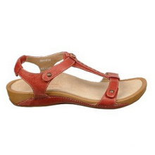 Bequeme Mode Leder Casual Style Sandalen