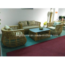 Lounge Outdoor Furniture Plastic Rattan Outdoor Furniture Sofa Set