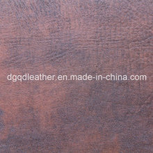 Antimicrobial and Antibacterial Furniture Leather (QDL-50327)