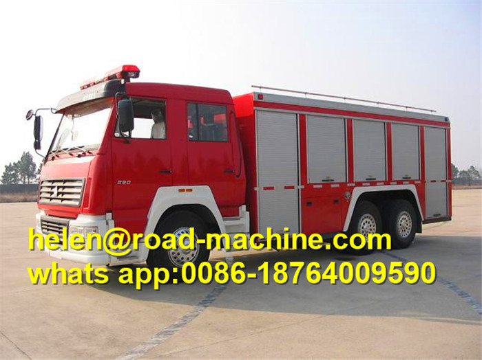 Fire Fighting Tank Truck 12000L